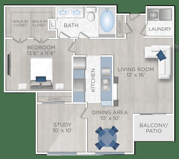 ne Bedroom Apartments